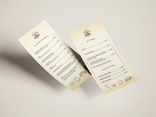 Carta Pastisseria Sant Jordi
